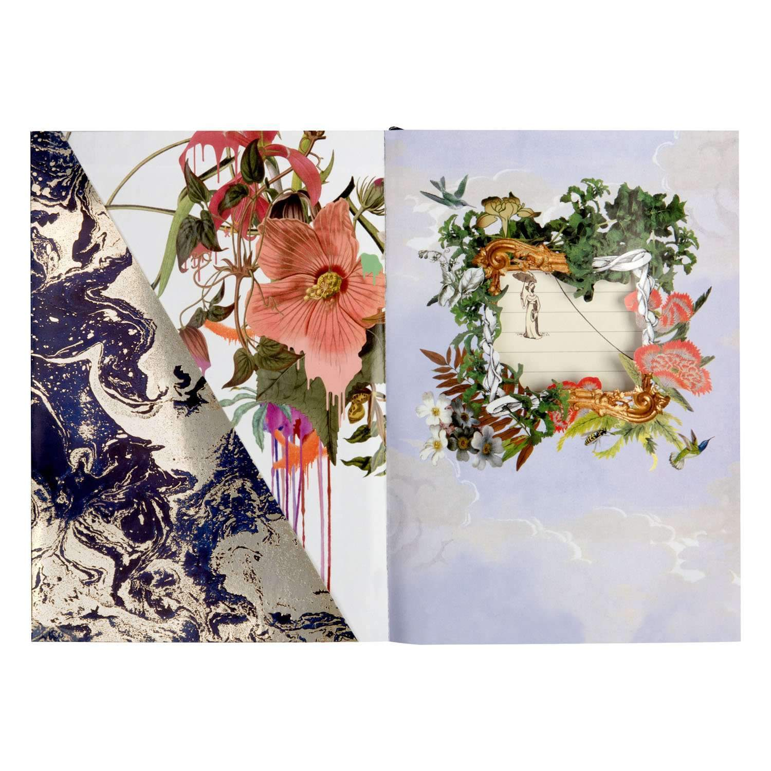 Idylle en vol A5 Layflat Notebook Christian Lacroix Notebooks and Journals Christian Lacroix
