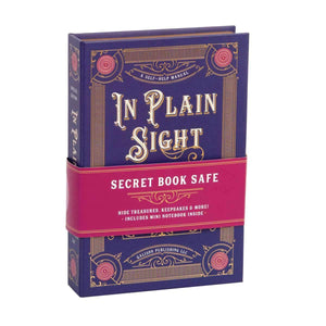 In Plain Sight Book Safe Secret Book Safes Galison