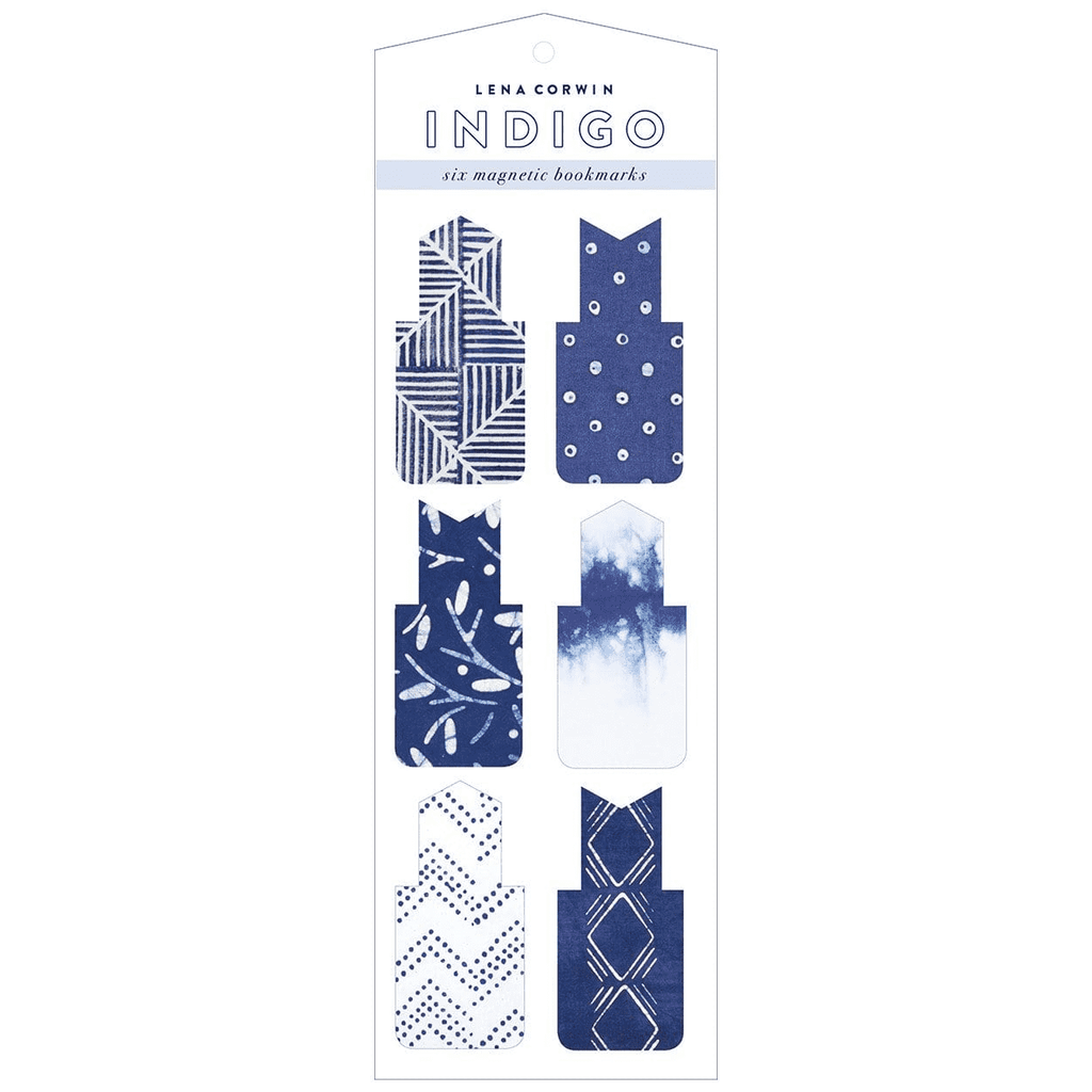 Indigo Magnetic Bookmarks Bookmarks Galison