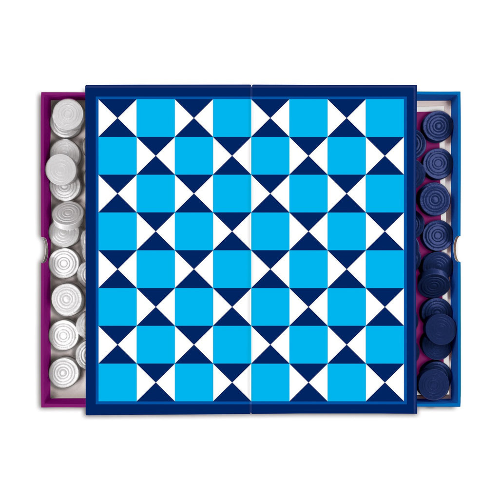 Jonathan Adler 2-in-1 Travel Game Set Travel Game Sets Jonathan Adler Collection