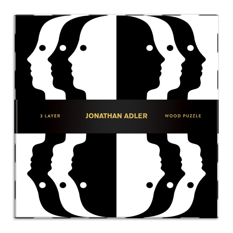 Jonathan Adler Atlas Layered Wood Jigsaw Puzzle Wooden Puzzle Sets Jonathan Adler Collection