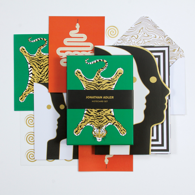 Jonathan Adler Explorer Boxed Notecards Greeting Cards Jonathan Adler Collection