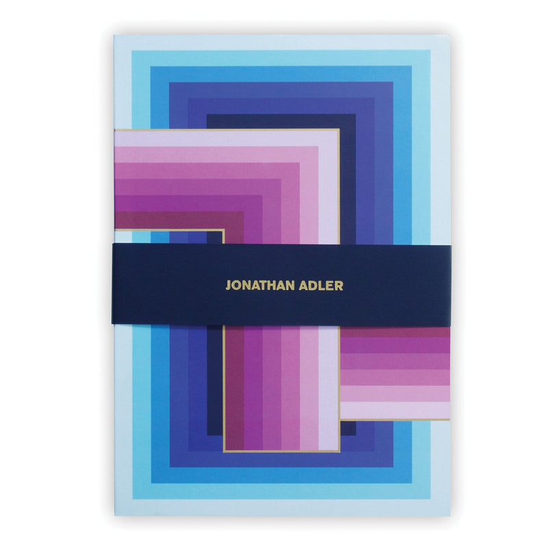 Jonathan Adler Infinity A5 Notebook Journals and Notebooks Jonathan Adler Collection