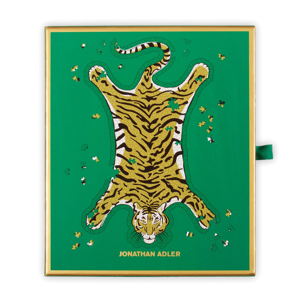 Jonathan Adler Safari 750 Piece Shaped Foil Puzzle 750 Piece Puzzles Jonathan Adler Collection