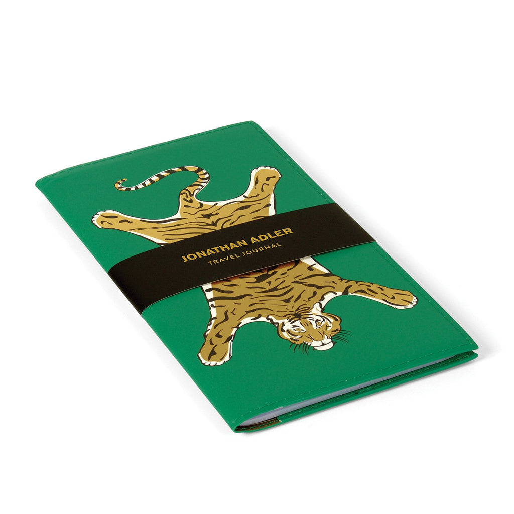 Jonathan Adler Safari PU Travel Journal Journals and Notebooks Jonathan Adler Collection