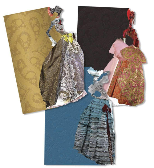 Les Madones Diecut Boxed Notecards Christian Lacroix Boxed Notecards Christian Lacroix