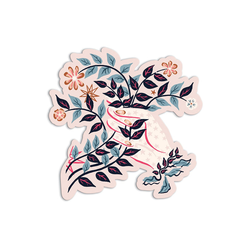 Liberty Ianthe Hand Shaped Notecard Set Greeting Cards Liberty London Collection
