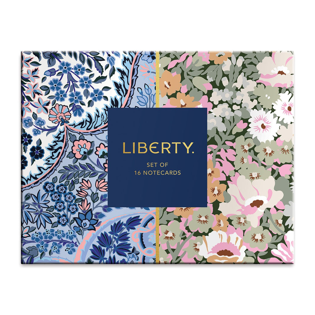 Liberty London Floral Greeting Assortment Notecard Set Greeting Cards Liberty London Collection