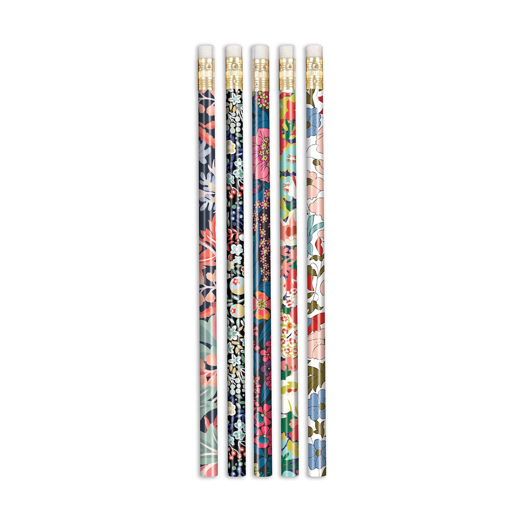 Liberty London Floral Pencil Set Pens and Pencils Liberty London Collection