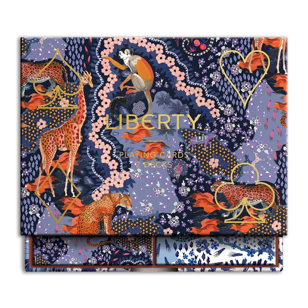 Liberty London Maxine Playing Card Set Playing Cards Liberty London Collection