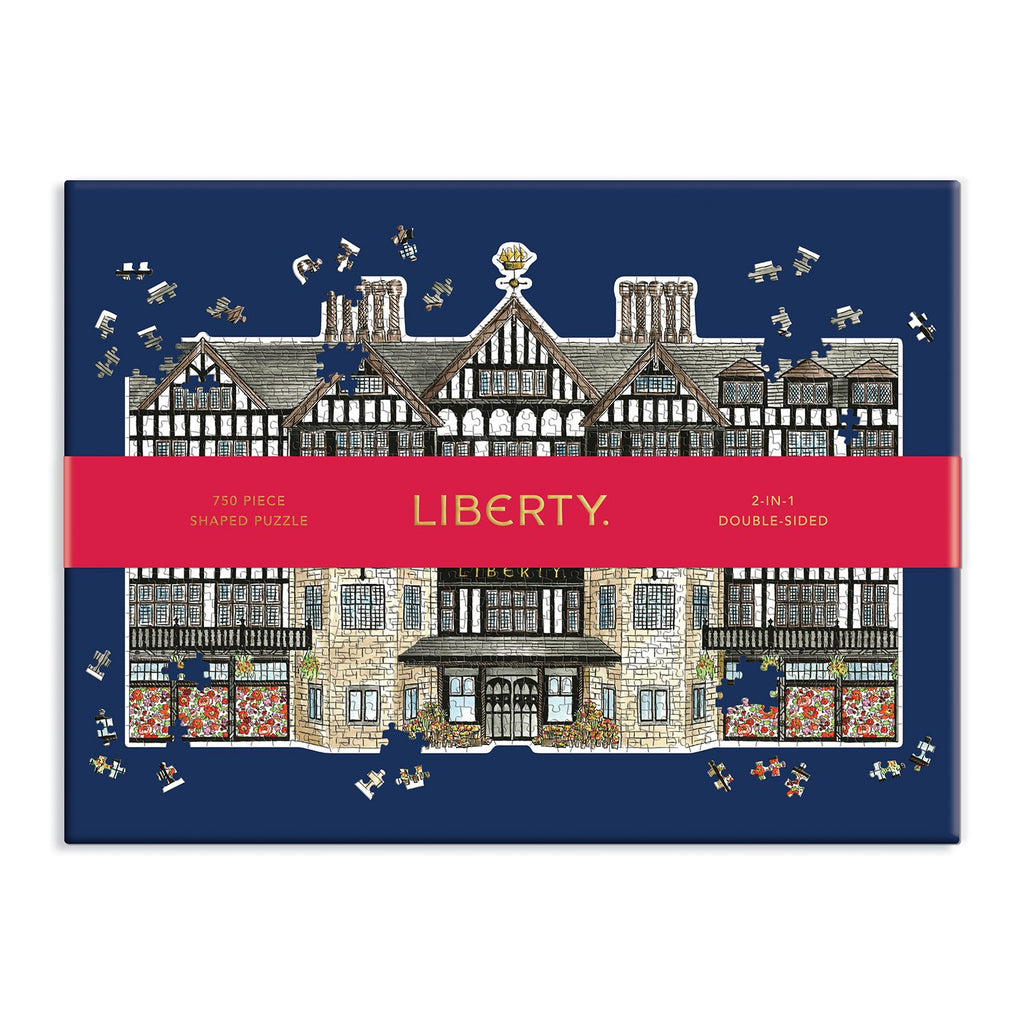Liberty London Tudor Building 750 Piece Shaped Puzzle 750 Piece Puzzles Liberty London Collection