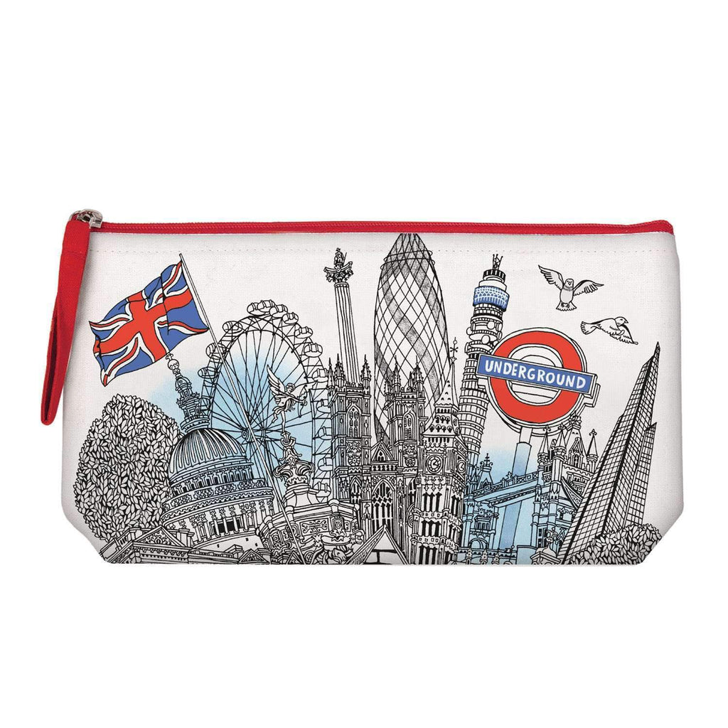 London Handmade Pouch Handmade Pouches Galison
