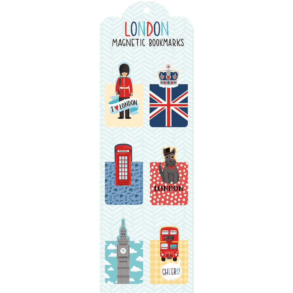 London Magnetic Bookmarks Bookmarks Galison