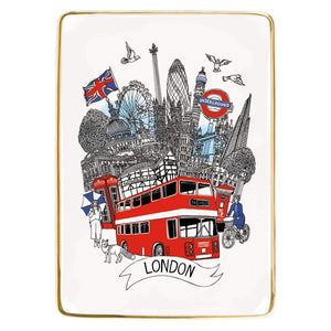 London Medium Porcelain Tray Porcelain Trays Galison