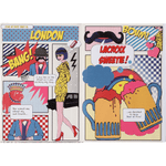 London Softcover Notebook Christian Lacroix Notebooks and Journals Christian Lacroix