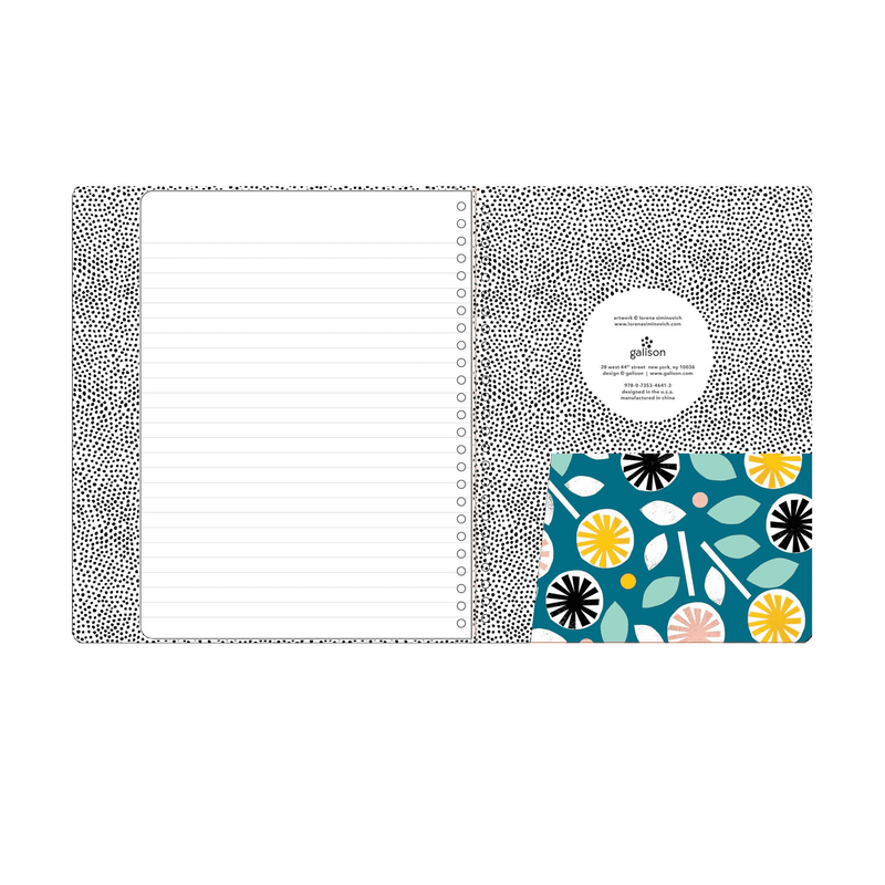 Lorena Siminovich Deluxe Spiral Notebook Sale Galison