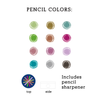 Metallic Colored Pencil Set Pens and Pencils Galison