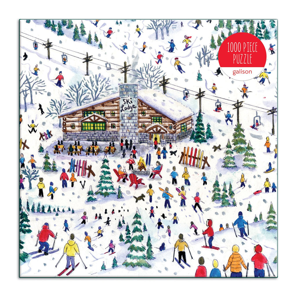 Michael Storrings Apres Ski 1000 Piece Jigsaw Puzzle Holiday 1000 Piece Puzzles Michael Storrings Collection