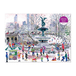Michael Storrings Bethesda Fountain 1000 Piece Jigsaw Puzzle Holiday 1000 Piece Puzzles Michael Storrings Collection