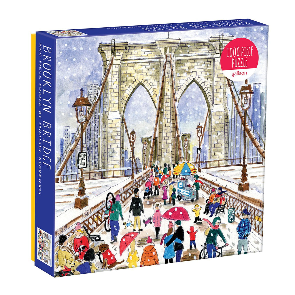 Michael Storrings Brooklyn Bridge 1000 Piece Jigsaw Puzzle Holiday 1000 Piece Puzzles Michael Storrings Collection