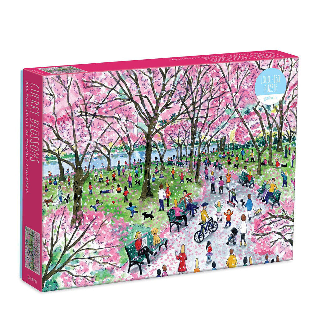 Michael Storrings Cherry Blossoms 1000 Piece Puzzle 1000 Piece Puzzles Michael Storrings Collection