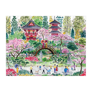 Michael Storrings Japanese Tea Garden 300 Piece Puzzle 300 Piece Puzzles Galison