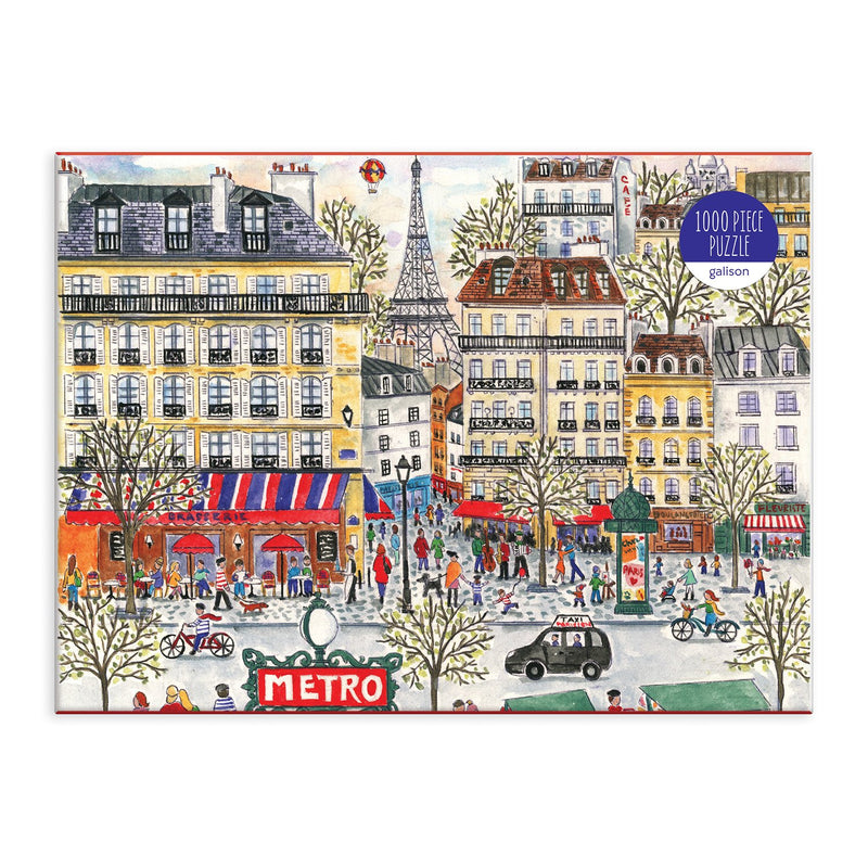 Michael Storrings Paris 1000 Piece Puzzle 1000 Piece Puzzles Galison