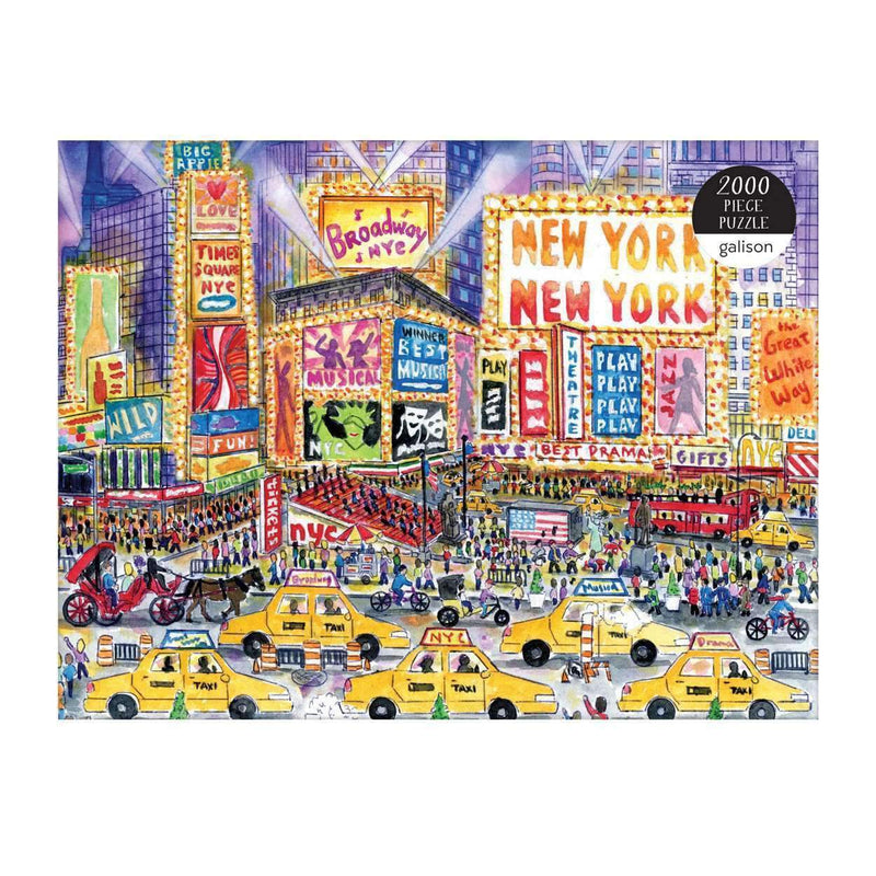 Michael Storrings The Great White Way 2000 Piece Puzzle 2000 Piece Puzzles Galison