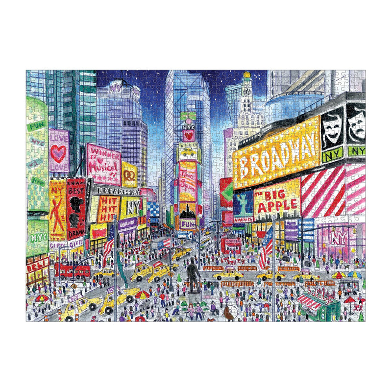 Michael Storrings Times Square 1000 Piece Puzzle 1000 Piece Puzzles Michael Storrings Collection