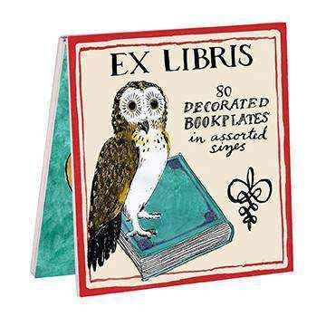 Molly Hatch Owl Bookplates Bookmarks Galison