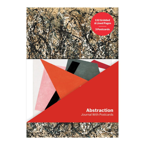 MoMA Abstraction Journal with Postcard Set Journals and Notebooks Galison
