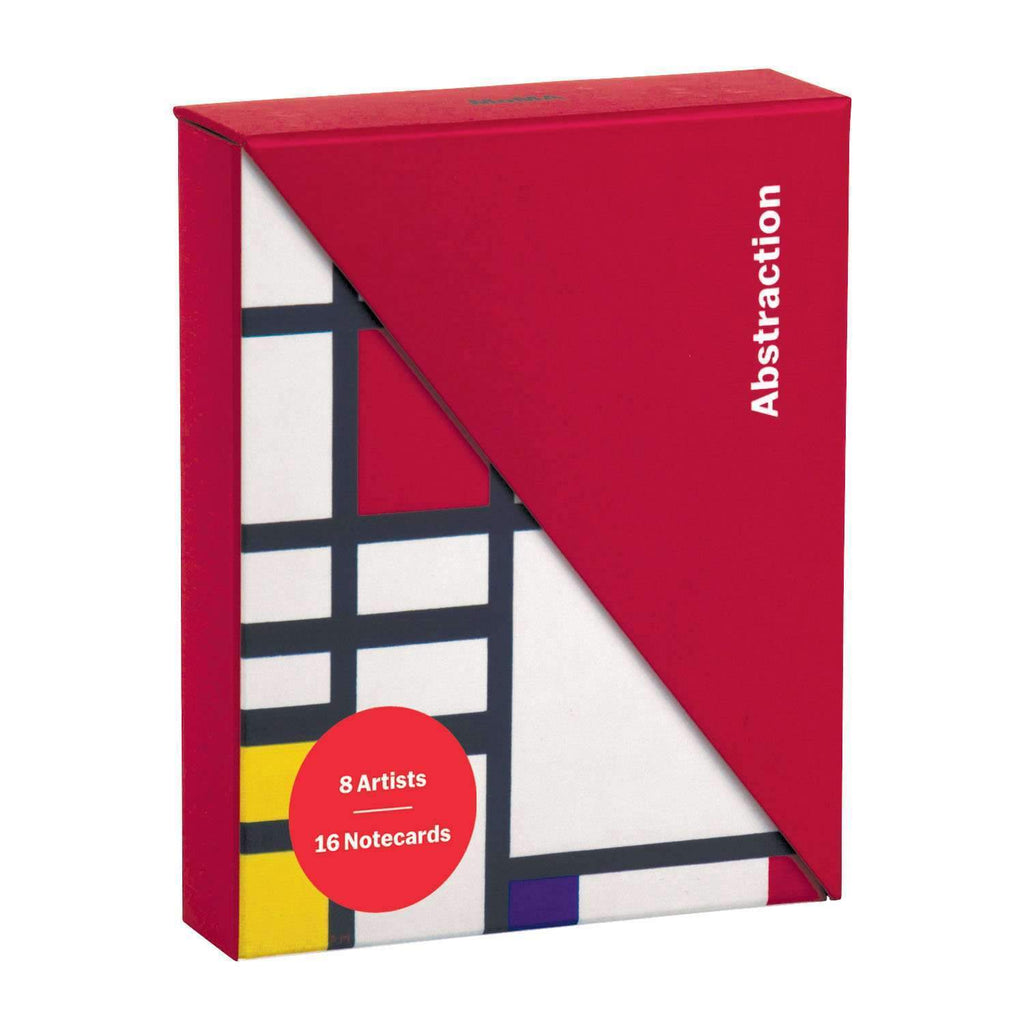 MoMA Abstraction Notecard Folio Box Greeting Cards Galison