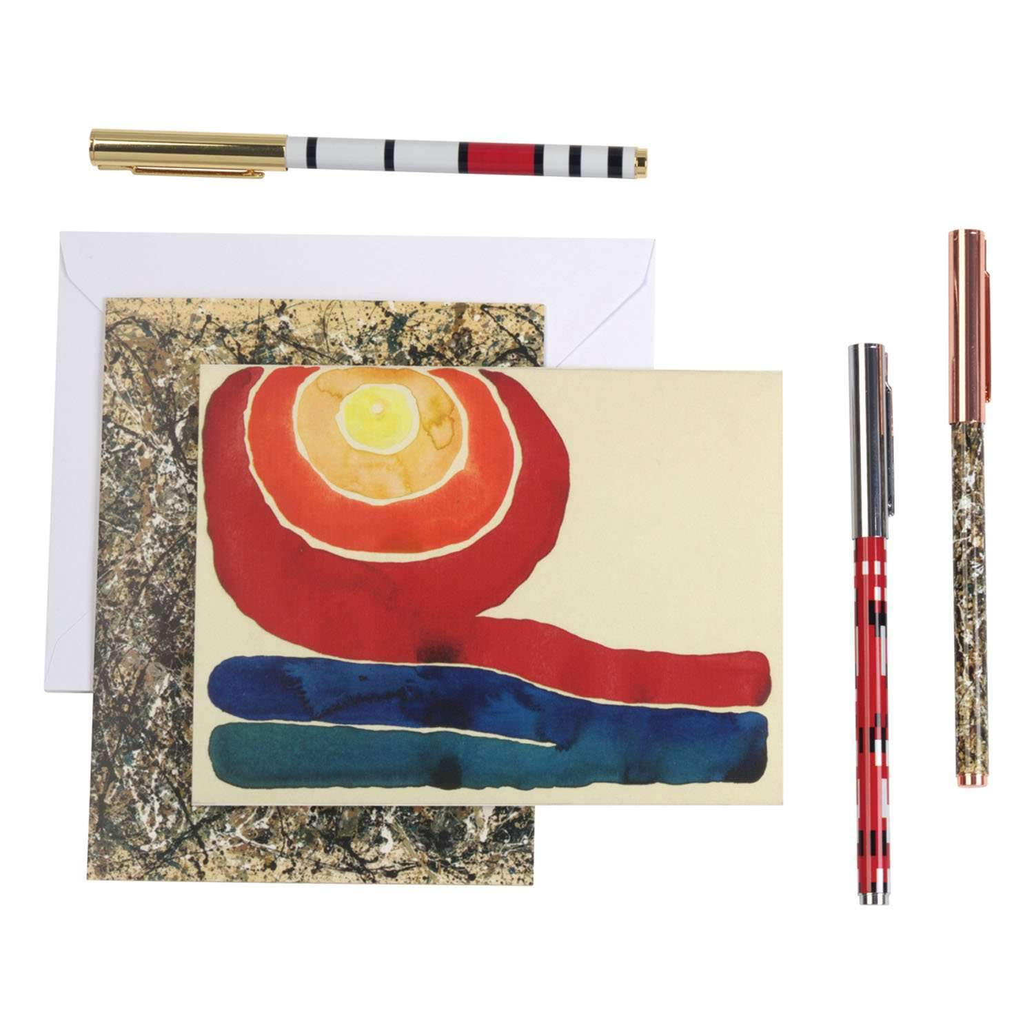 MoMA Abstraction Pen Set Pens and Pencils Galison