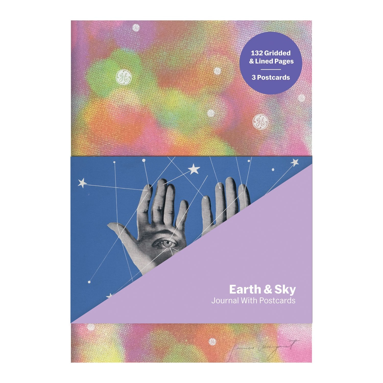 MoMA Earth & Sky Journal with Postcard Set Journals and Notebooks Galison