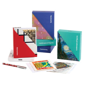 MoMA Earth & Sky Notecard Folio Box Greeting Cards Galison