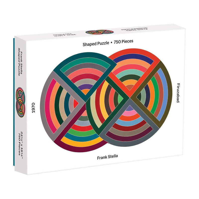 MoMA Frank Stella 750 Piece Shaped Puzzle 750 Piece Puzzles Galison
