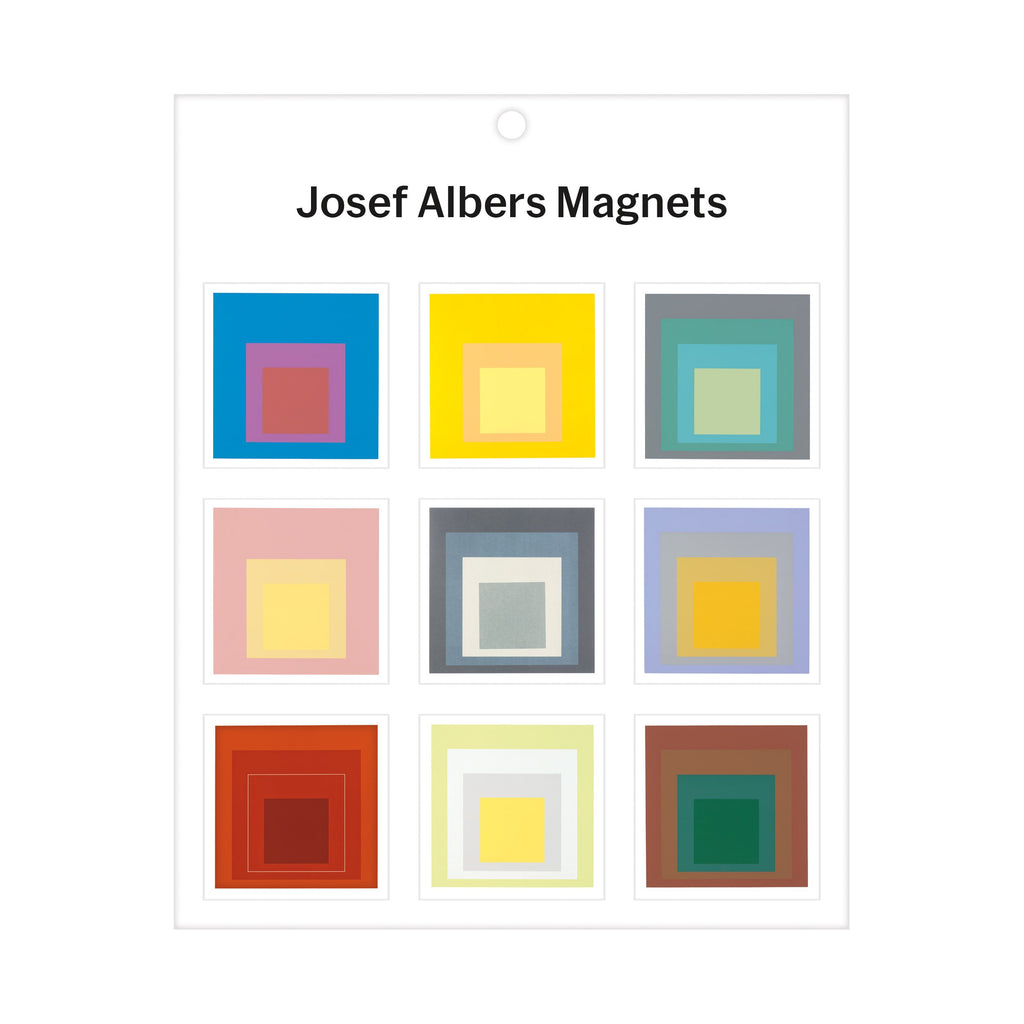 MoMA Josef Albers Magnets Magnets Galison