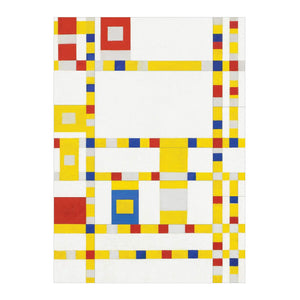 MoMA Mondrian Sticky Notes Box Sticky Notes Galison