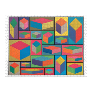 MoMA Sol Lewitt 500 Piece 2-sided Puzzle 2-sided 500 Piece Puzzles Galison
