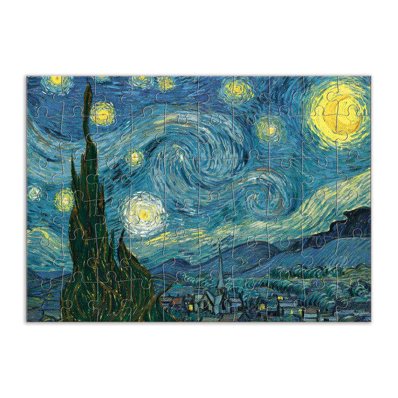 MoMA Starry Night Greeting Card Puzzle Greeting Card Puzzles MoMA Collection