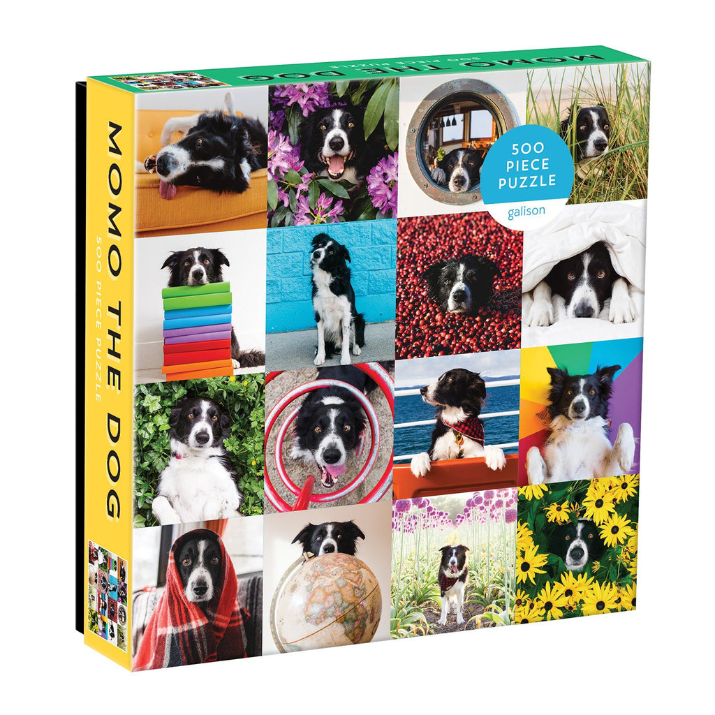 Momo The Dog 500 Piece Puzzle 500 Piece Puzzles Galison