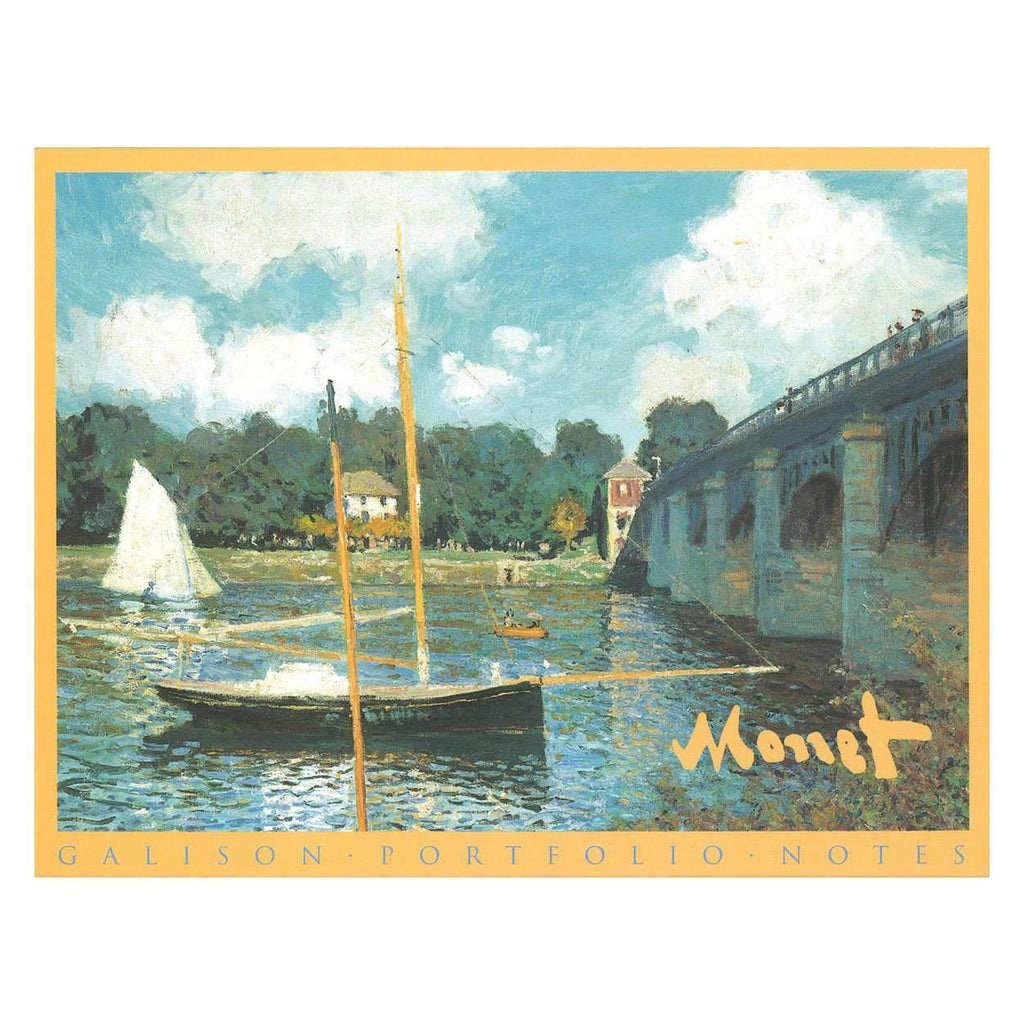 Monet Masterpieces Portfolio Notes Greeting Cards Galison