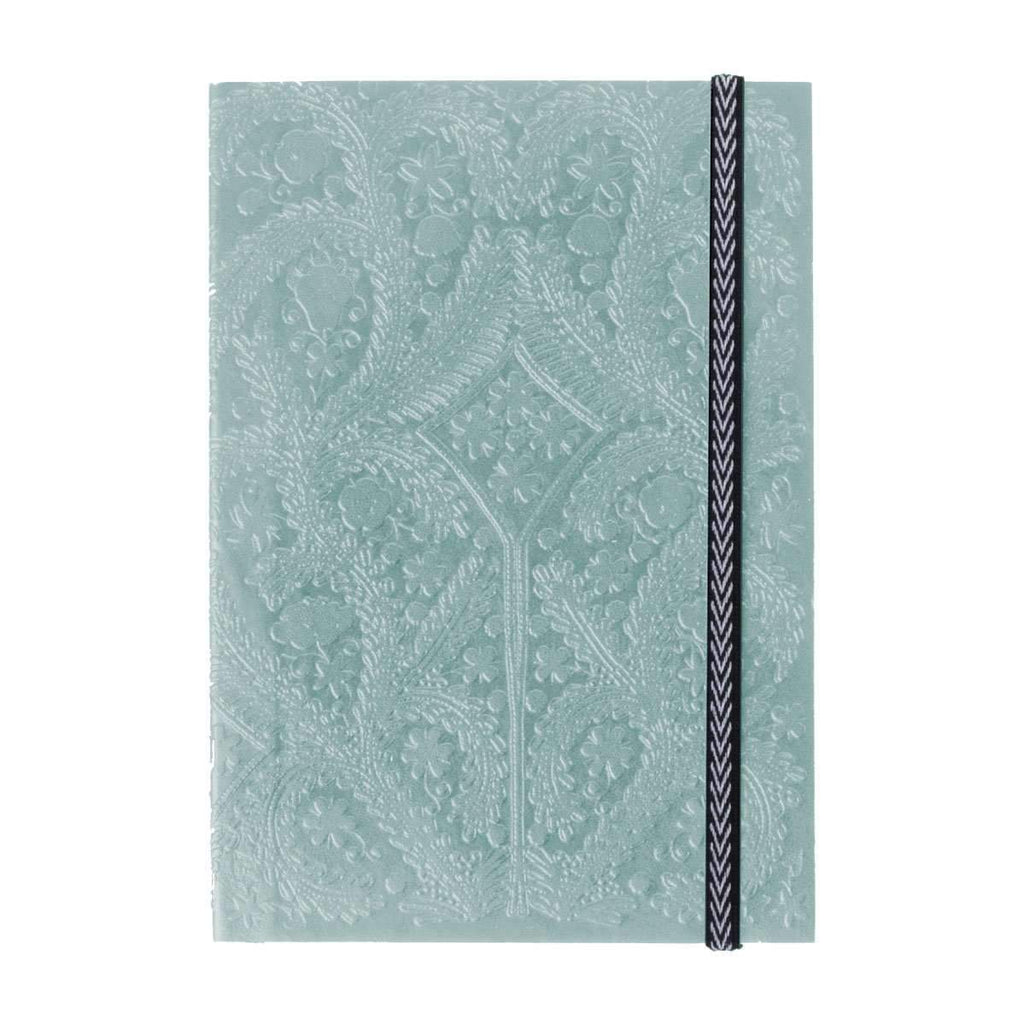 Moon Silver Embossed Paseo Notebook Christian Lacroix Notebooks and Journals Christian Lacroix