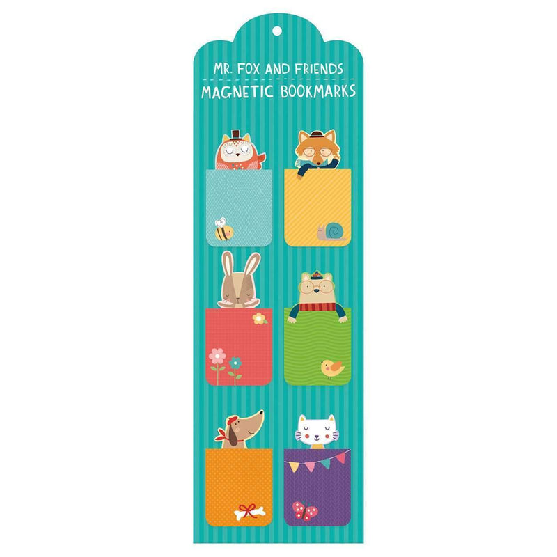 Mr. Fox and Friends Magnetic Bookmarks Bookmarks Galison