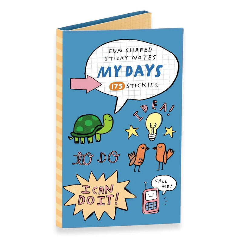 My Days Fun Shaped Sticky Notes Sale Galison