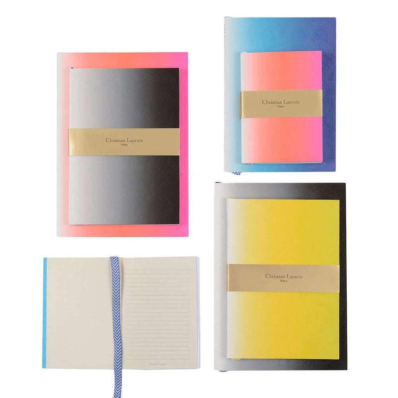 Neon Blue Paseo Notebook Christian Lacroix Notebooks and Journals Christian Lacroix