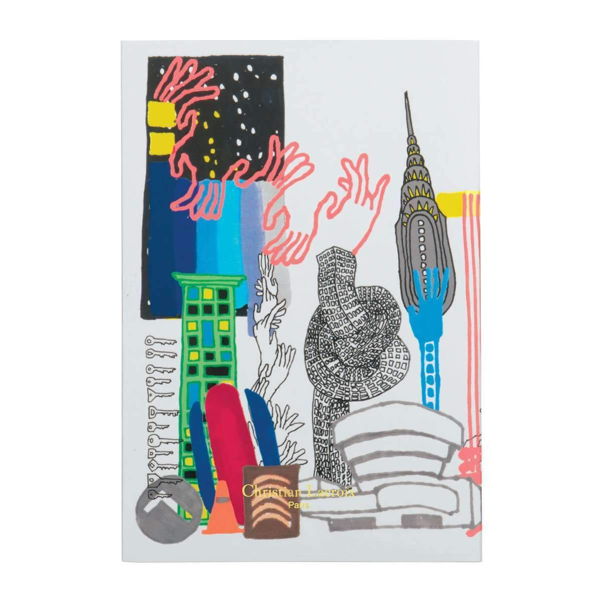New York Brian Kenny Notebook Christian Lacroix Notebooks and Journals Christian Lacroix
