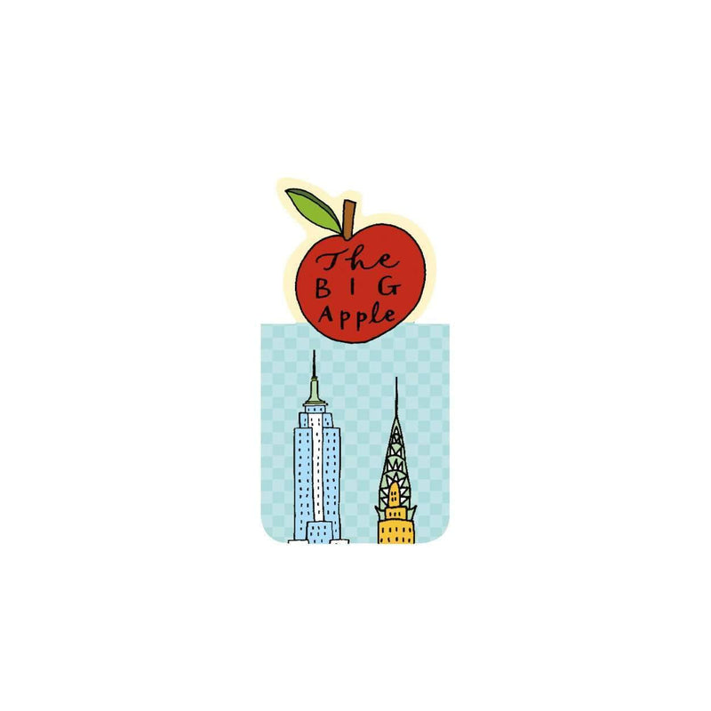 New York City Magnetic Bookmark Bookmarks Galison