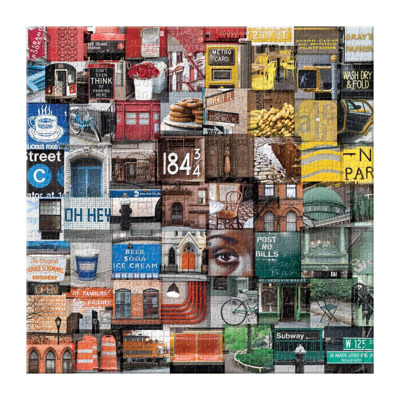 New York in Color 500 Piece Puzzle 500 Piece Puzzles Galison
