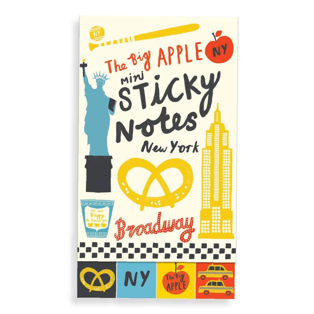 New York The Big Apple Mini Sticky Notes Sticky Notes Galison